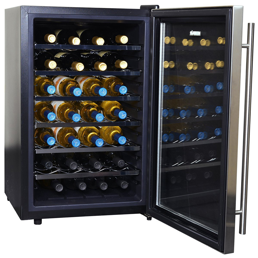 Newair Aw 281e Thermoelectric Freestanding Wine Cooler