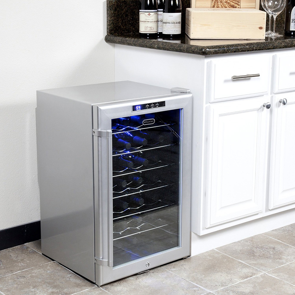 Wine Refrigerator Reviews >> Whynter Wc28s Sno 28 Bottle Wine Cooler Review