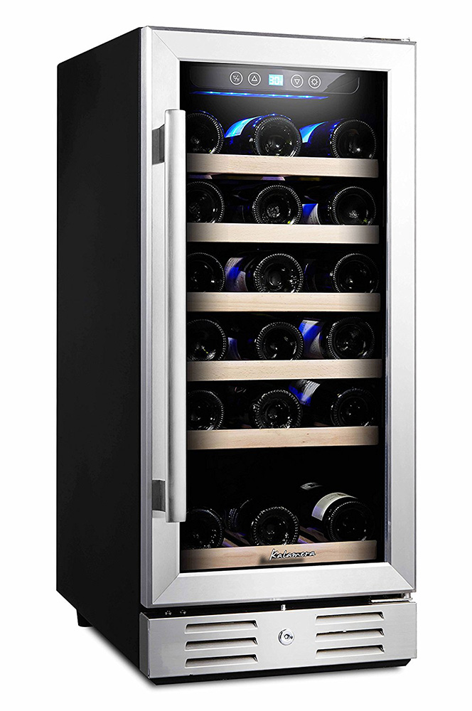 Kalamera 30 Bottle Wine Refrigerator Review Home Wine